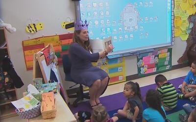 Un estudio resalta la importancia del pre-kinder para la educación de lo...