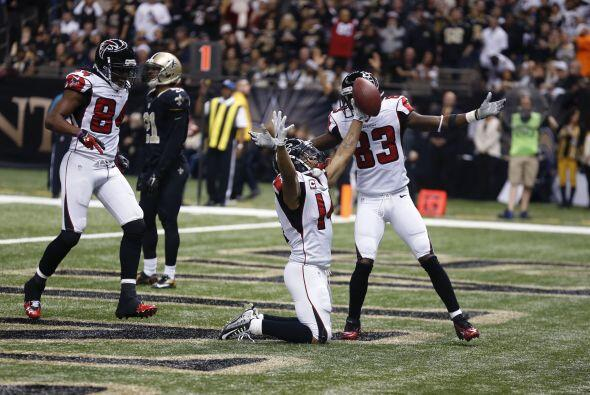 8.- Atlanta Falcons (AP-NFL).