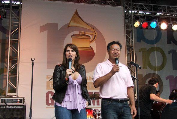 Carina Garcia y Salvador Cruz de Univision 41, NY, tuvieron una mision m...