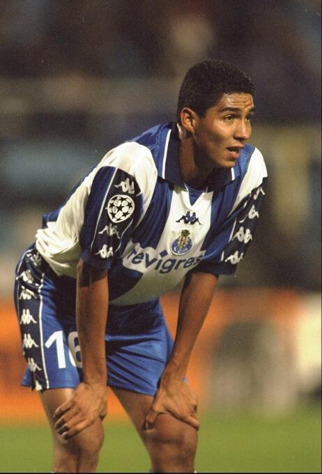 Temporada 1999/2000 - Mario Jardel (F.C. Porto) con 10 goles.