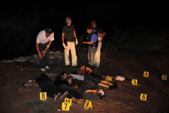 El comunicado informa que 'debido a que las muertes violentas o ejecucio...
