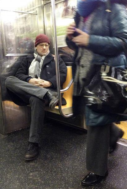 ¡Quién iba a pensar que se trataba del señor Hanks!