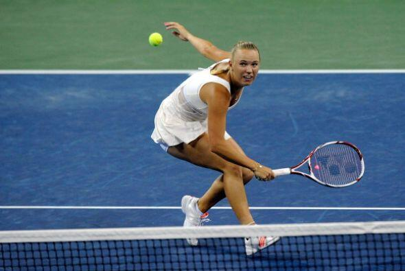 Wozniacki sigue sin poder coronarse en un Grand Slam.