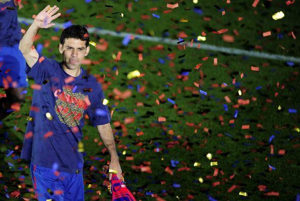 Esta pudo ser la última campaña de Rafael Márquez en el Barcelona, pues...