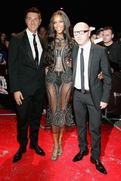 Naomi ha sido considera como una de las mejores 'top models' de los últi...