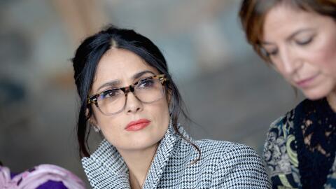 Salma Hayek compartió el pasado sábado con otras líderes de la industria...