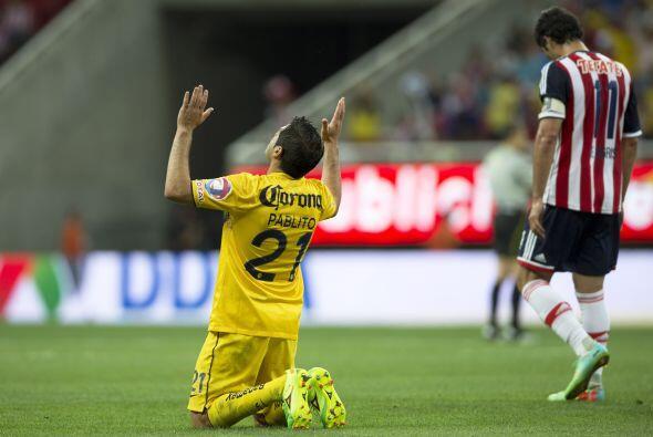 Pablo Aguilar.- Para evitar que Chivas fuera peligroso, había que detene...