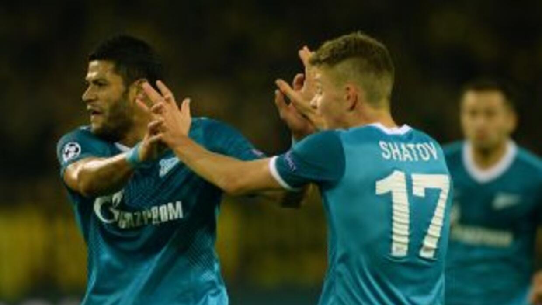 Oleg Shatov dio el triunfo al Zenit sobre el Standard .