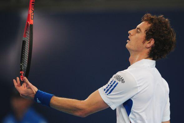 Murray no pudo vencer al veterano  Ljubicic y quedó fuera del torneo.
