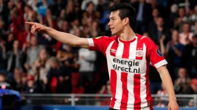 En fotos: la dupla mexicana del PSV volvió a aparecer para el triunfo sobre el VVV Venlo