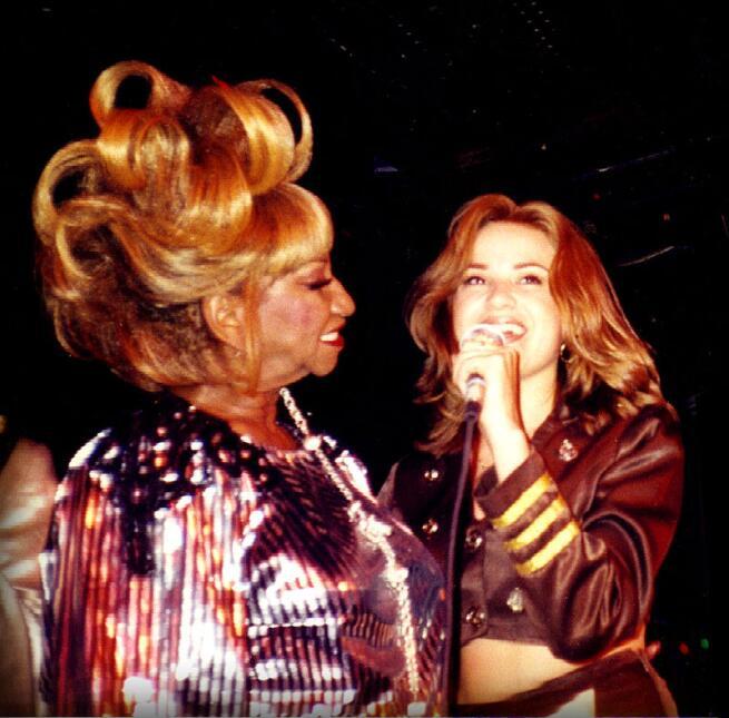 Úrsula Hilaria Celia Caridad Cruz Alfonso, cantante cubana que en 1984 f...