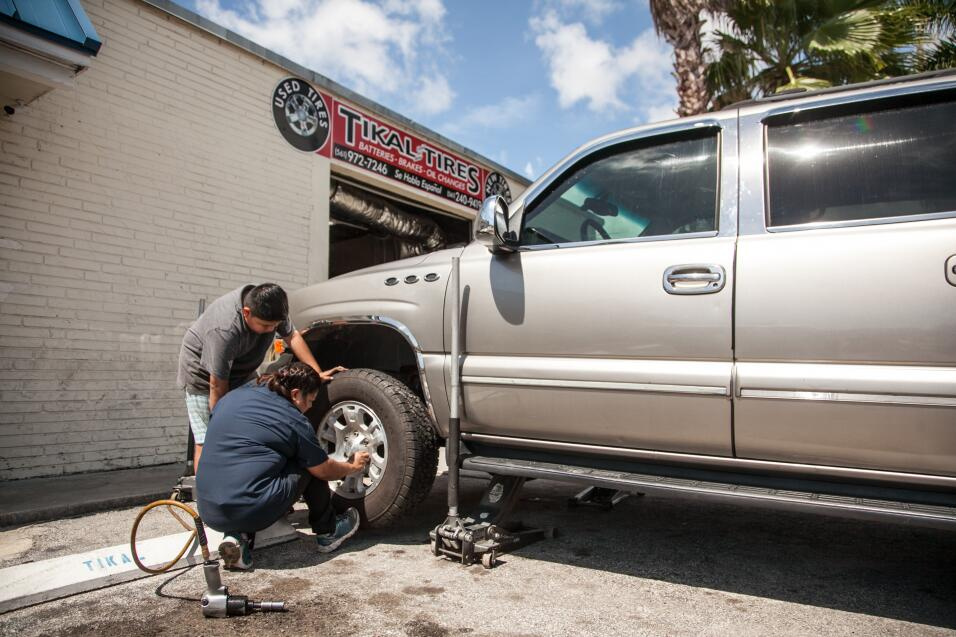 Cornered by Trump: An undocumented woman hopes to save her family's tire...