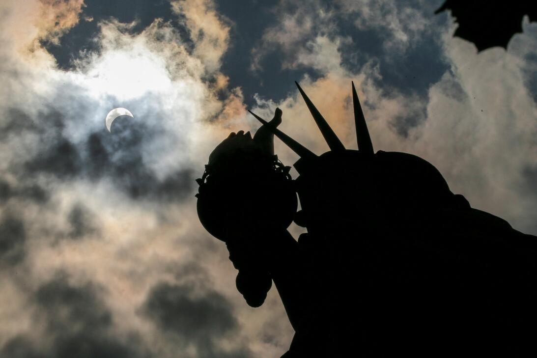 Eclipse Nueva York