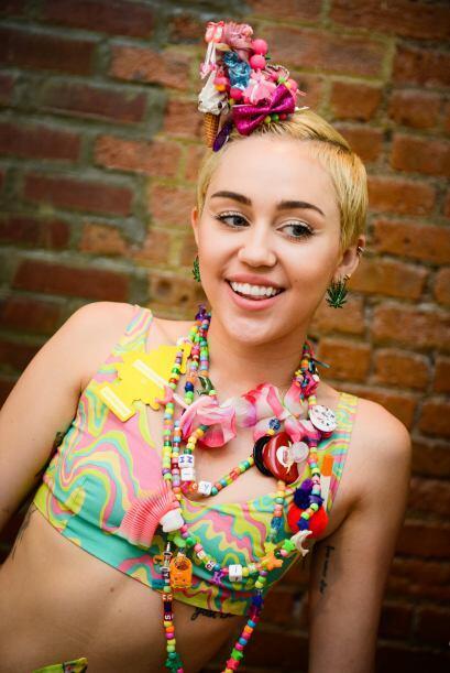 ¡Y sin duda Miley Cyrus es la nueva reina del disfraz!