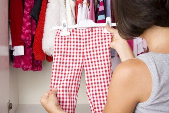¡Solo ropa en buen estado! Otra regla que tomamos del mismo sitio fue qu...
