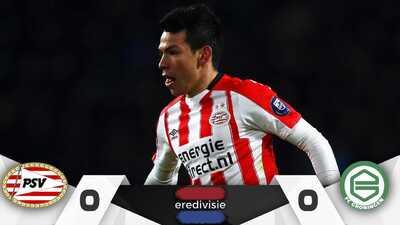 'Chucky' volvió a la actividad, pero no logró amarrar el liderato de goleo con el PSV
