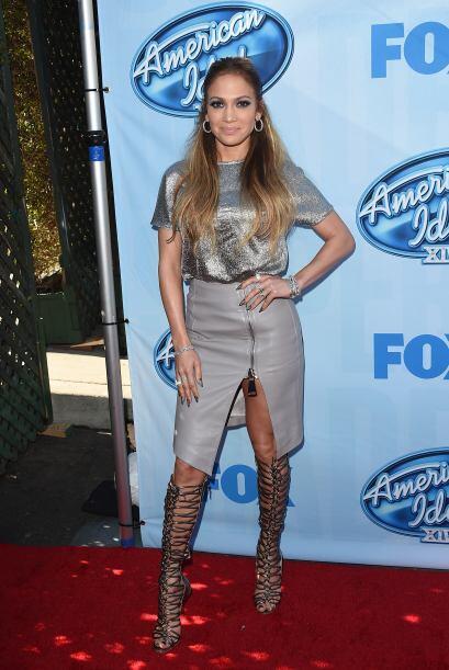 En la presentación de los American Idol hizo tremenda combinación con cu...