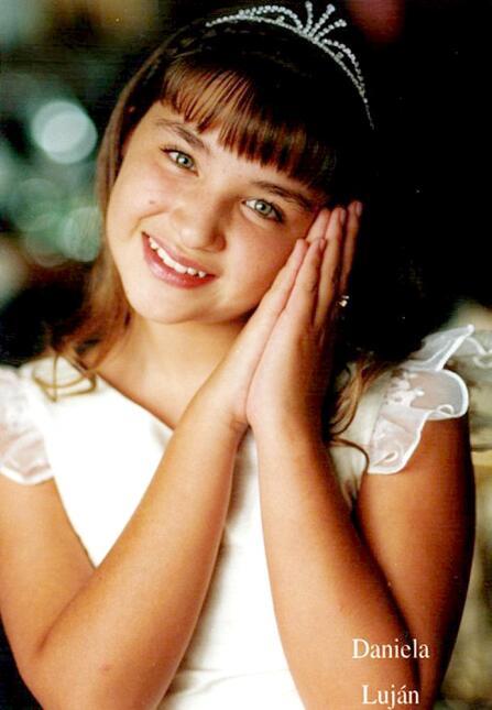Daniela Lujan de niña Pequeños Gigantes USA