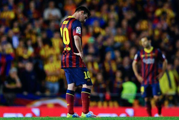Durante el mes de abril Messi ha perdido su chispa. Su desempeño...
