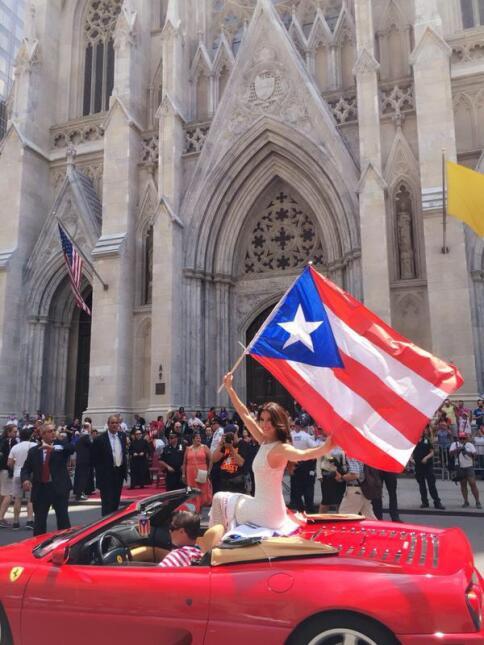 Univision en el Desfile Puertorriqueño