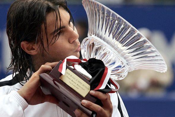 05.- El primer Masters Series; Fue en 2005 al ganar el de Montecarlo ant...