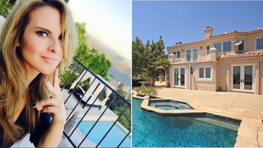 Te presentamos imágenes de la hermosa residencia de la actriz en Los Ang...