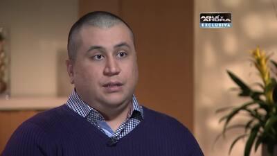 George Zimmerman lo revela todo en su entrevista a Univision