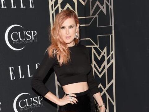 Rumer Willis, la hija mayor de Demi Moore y Bruce Willis, se present&oac...
