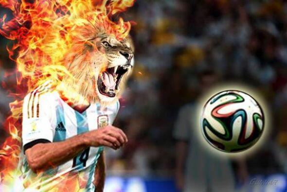 La afición de Argentina honró el gran Mundial de Javier Ma...