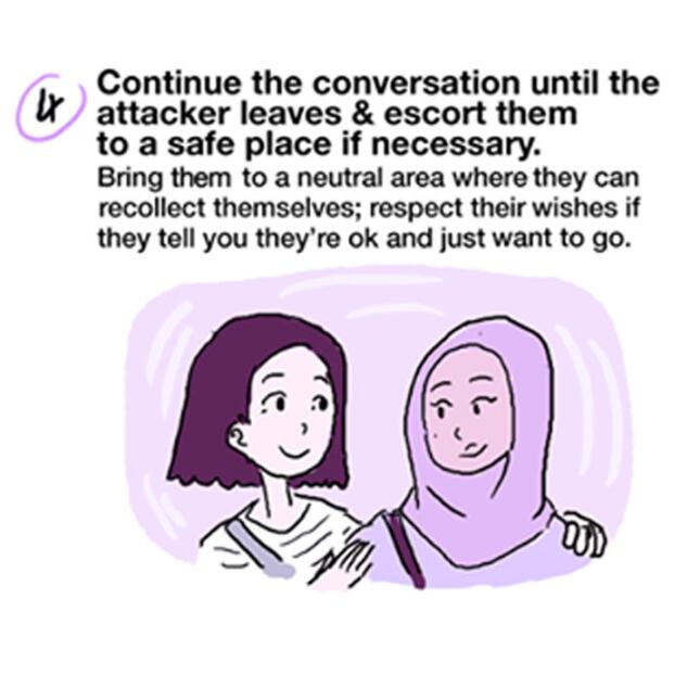 How to intervene if you witness a racist incident or attack
