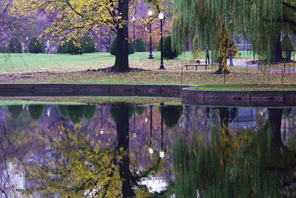 7. Boston: El Boston Common es el parque más antiguo del pa&iacut...