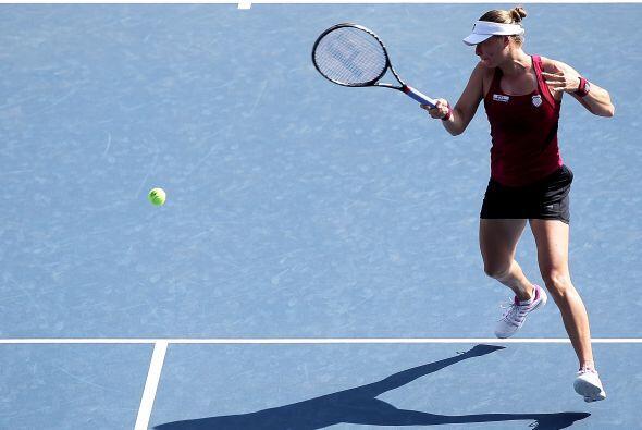 Esta semifinal fue increíble ya que Kvitova dominaba en la primera manga...
