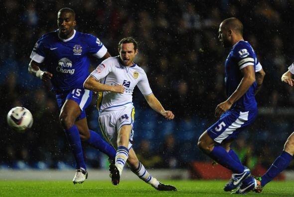 En otros resultados, el Leeds United dio de qué hablar al eliminar al Ev...
