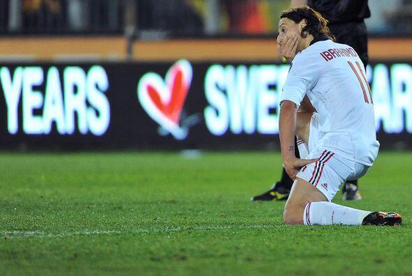 Ese gol nunca llegó y Milan apenas igualó 1-1.