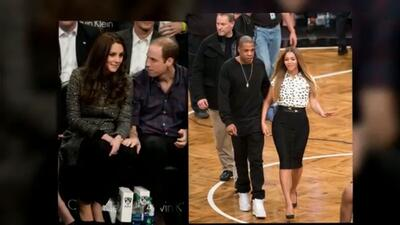¡Beyoncé y Jay Z se codean con la realeza!