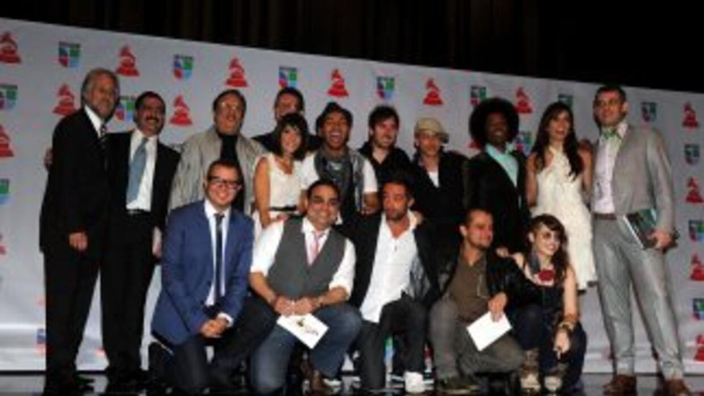 Favoritos a los Grammy Latinos