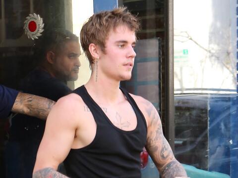 Justin Bieber en clases de box