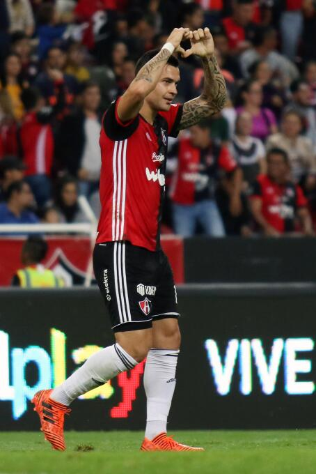 Atlas y Tigres empatan en duelo de la Jornada 8 gol-milton-caraglio-atla...