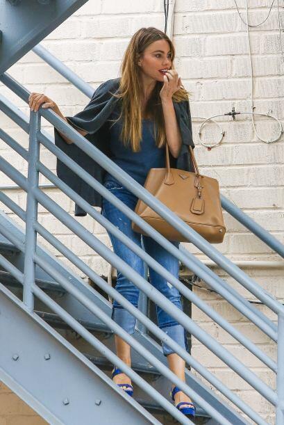 Sofía salió de compras en Beverly Hills.