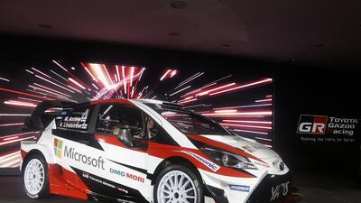 Toyota presentó su nuevo Yaris para su regreso al WRC