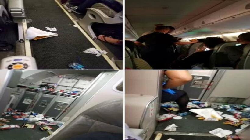 El vuelo 1134 de JetBlue partió la noche del lunes de Puerto Rico...