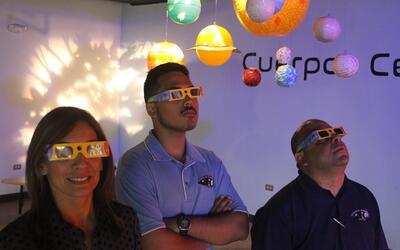 En el C3Tec de Caguas  se darán gafas especiales para ver el fen&...