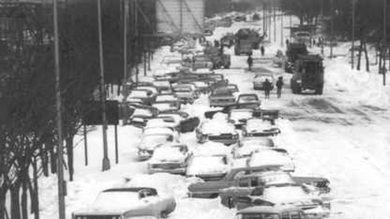 Así lucia Chicago en enero del 1967 Foto cortesía: Servicio Nacional de...