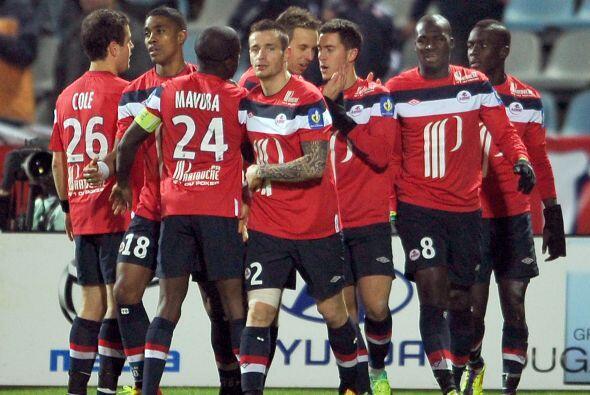 Ante el Dijon no fue la excepción y el Lille ganó por 2-0 con un gol de...