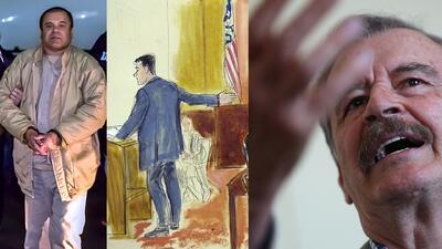 Expresidente Vicente Fox no salió limpio en juicio de 'El Chapo'