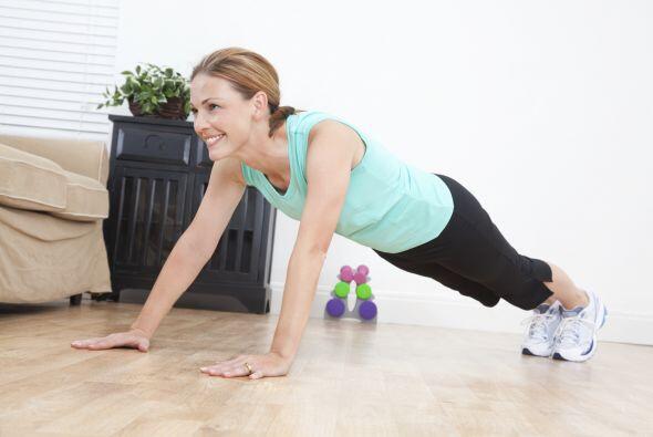 Rutina 2. Son tres ejercicios en total, y juntos conforman un 'set'.