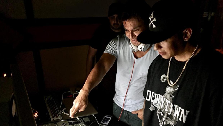 Daddy Yankee dio un adelanto de su nuevo disco al fundador de Zumba Scre...