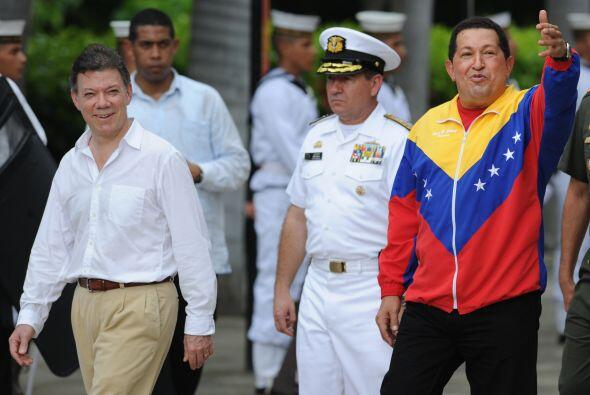 Ambos mandatarios se mostraron optimistas para superar la crisis diplomá...