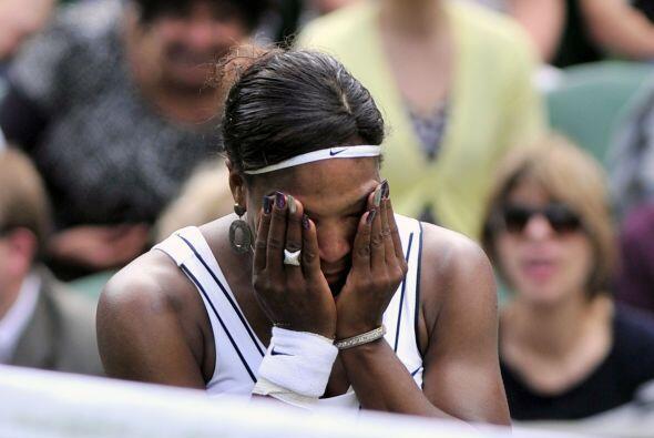 La menor de las Williams, Serena, séptima cabeza de serie en este torneo...