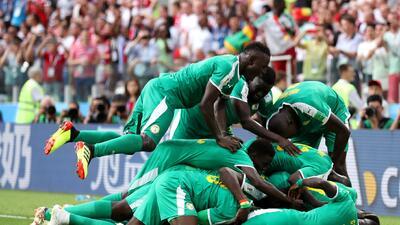 En fotos: Senegal da la segunda sorpresa del grupo H y venció 2-1 a Polonia